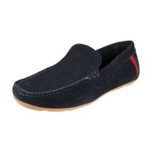 Ego Shoes-Ανδρικά Δερμάτινα Μοκασίνια-G69-09853-38-ΜΠΛΕ