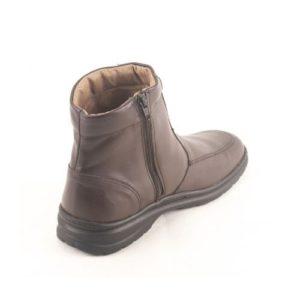 Ego Shoes-Ανδρικά Δερμάτινα Μποτάκια- 40-9894-28-ΚΑΦΕ