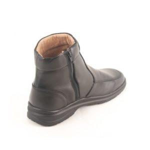 Ego Shoes-Ανδρικά Δερμάτινα Μποτάκια-40-9894-34-ΜΑΥΡΟ