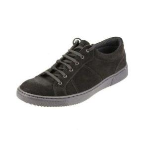 Ανδρικά Δερμάτινα Παπούτσια Casual Κούρος, Καστόρι Μαύρο, κωδ. Κ04