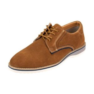 Ego Shoes-Ανδρικά Δερμάτινα Sneakers-G18-09122-28-ΚΑΜΕΛ