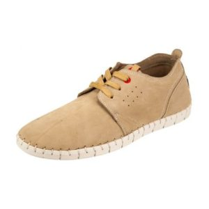 Ego Shoes-Ανδρικά Δερμάτινα Sneakers-G18-09449-36-ΜΠΕΖ