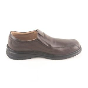 Ego Shoes-Ανδρικά Μοκασίνια Δερμάτινα40-9544-28-ΚΑΦΕ