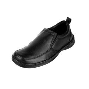 Ανδρικά Μοκασίνια Δερμάτινα, REVOLVER Shoes, Χρώμα Μαύρο Κωδ. RU85-4933