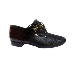 Dance Experts-Ανδρικά Παπούτσια Χορού-701-ΜΑΥΡΟ