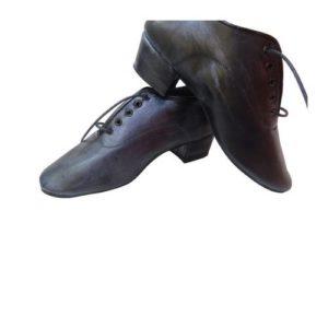 Dance Experts-Ανδρικά Παπούτσια Χορού-704-ΜΑΥΡΟ