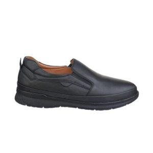 Safe Step-Ανδρικά casual Δερμάτινα-704-ΜΑΥΡΟ