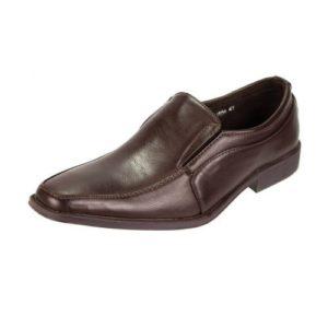 Zak Shoes-Ανδρικά casual Μοκασίνια-61-034-ΚΑΦΕ