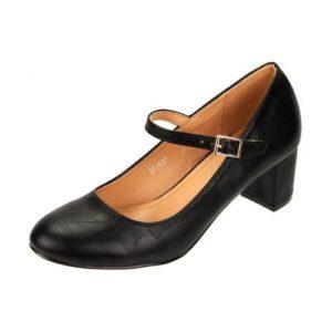 Zak Shoes-Γυναικεία Γόβα Χορού με Μπαρέτα-37-037-ΜΑΥΡΟ