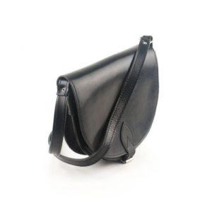 Γυναικεία Δερμάτινη Τσάντα Κούρος Model 501 Μαύρο