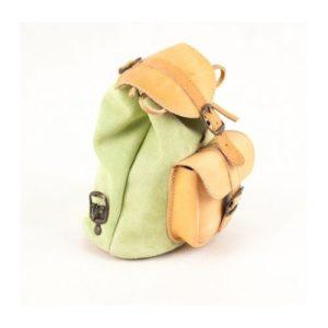 Γυναικείο Δερμάτινο Σακίδιο Πλάτης Model 642 Φυσικό Πράσινο