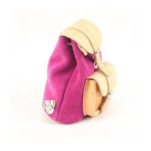 Γυναικείο Δερμάτινο Σακίδιο Πλάτης Model 642 Φυσικό Ροζ