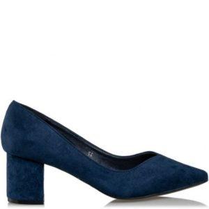 Γόβες Smart Suede Κωδ. S31-10524-38 Χρώμα Μπλε