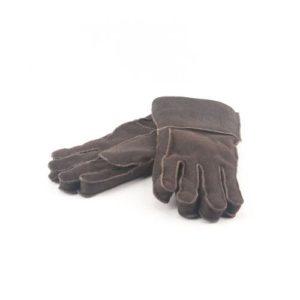 Δερμάτινα Γάντια Μουτόν Καφέ Χρώμα 2