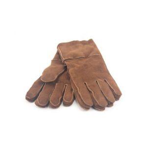 Δερμάτινα Γάντια Μουτόν Καφέ