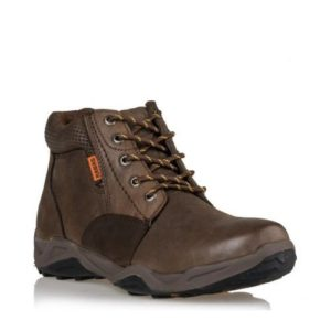 Ego Shoes-Δερμάτινα Ορεβατικά Μποτάκια Ανδρικά-G67-08271-28-ΚΑΦΕ