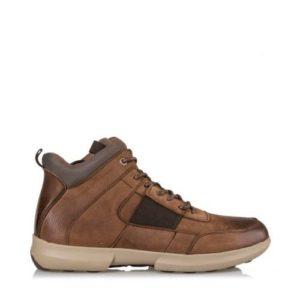 Ego Shoes-Δερμάτινα Ορεβατικά Μποτάκια Ανδρικά-G99-08745-28-ΚΑΦΕ