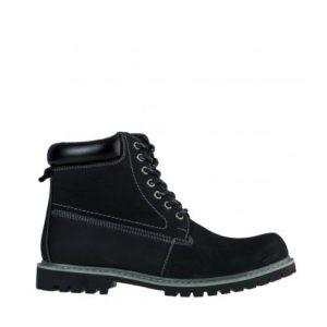 Ego Shoes-Δερμάτινα Ορεβατικά Μποτάκια Ανδρικά-G69-08474-34-ΜΑΥΡΟ