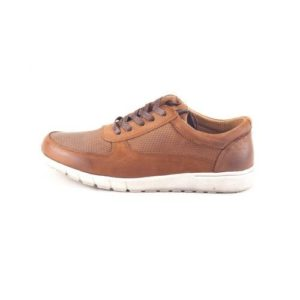 Ego Shoes-Δερμάτινα Παπούτσια Ανδρικά-G67-07584-28-ΚΑΦΕ