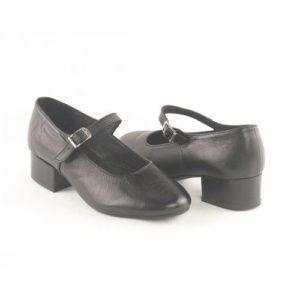 Κόγιας-Δερμάτινα Παπούτσια Χορού Χαμηλό Τακούνι-DS00002