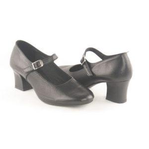 Κόγιας-Δερμάτινα Παπούτσια Χορού Ψηλό Τακούνι-DS00001