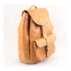 Δερμάτινα Σακίδια Πλάτης Model 403 Φυσικό Χρώμα, Δέρμα Ά Ποιότητα