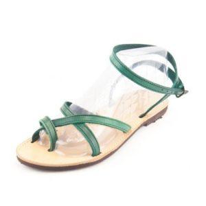 Δερμάτινα Σανδάλια Dalis Leather Model 196 Πράσινο