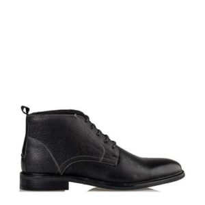 Ego Shoes-Δερμάτινα Casual Μποτάκια Ανδρικά-G99-12882-34-ΜΑΥΡΟ