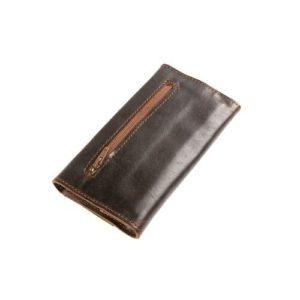 Δερμάτινη Καπνοθήκη Κούρος χρώμα Καφέ Σκούρο Model 12544
