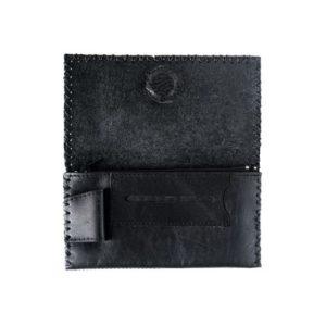 Δερμάτινη Καπνοθήκη Κούρος χρώμα Μαύρο Κωδ. 1301
