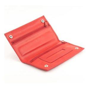 Δερμάτινη Καπνοθήκη Κούρος Model 8604 Κόκκινο