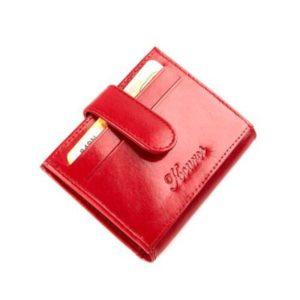 Δερμάτινη Καρτοθήκη Model 849N Κόκκινο