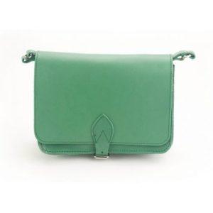 Δερμάτινη Τσάντα Κούρος Model 314 Πράσινο