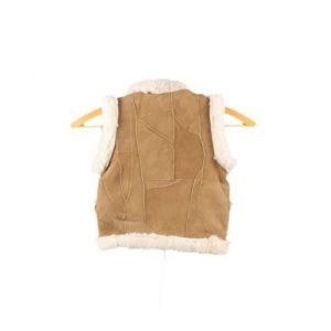 Dalis Leather-Δερμάτινο Γιλέκο Παιδικό Νο 0 Μπεζ (Παιδιά Ηλικίας έως 2 ετών)