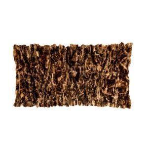 Δερμάτινο Χαλί-Ριχτάρι Toscana (Shipskin) από  Γνήσιο Δέρμα και Φυσική Γούνα 100% 130cm x 250cm Κωδ. 111564