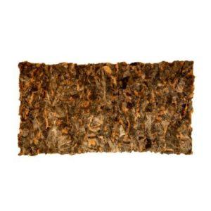 Δερμάτινο Χαλί-Ριχτάρι Toscana (Shipskin) από  Γνήσιο Δέρμα και Φυσική Γούνα 100% 130cm x 250cm Κωδ. 111565
