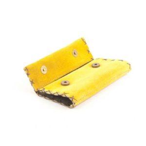 Καστόρινη Καπνοθήκη Κούρος Κίτρινο Model 2