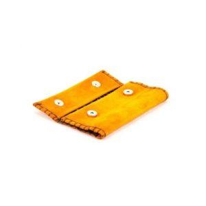 Καστόρινη Καπνοθήκη Κούρος Πορτοκαλί Model 18