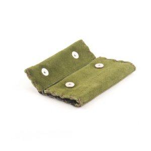 Καστόρινη Καπνοθήκη Κούρος Πράσινο Model 3
