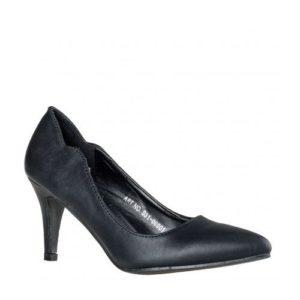 Μυτερές Κλασσικές Γόβες Envie Shoes Κωδ. S31-06001-34 Χρώμα Μαύρο
