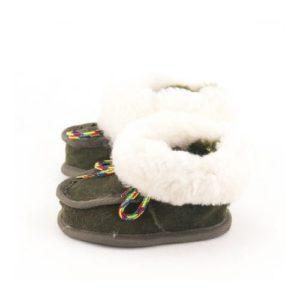 Dalis Leather-Παιδικά Δερμάτινα Κλειστά Παντοφλάκια Καστοριάς (Suede)-ΚΥΠΑΡΙΣΣΙ