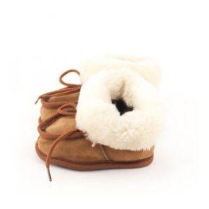 Dalis Leather-Παιδικά Δερμάτινα Κλειστά Παντοφλάκια Καστοριάς (Suede)-ΤΑΜΠΑ