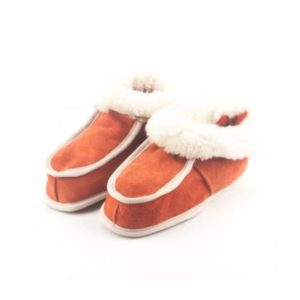 Dalis Leather-Παιδικά Παντοφλάκια Καστοριάς Κλειστά-DPPK028OR-ΠΟΡΤΟΚΑΛΙ