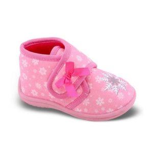 Zak Shoes-Παιδικά Παντοφλάκια-42-111-ΡΟΖ