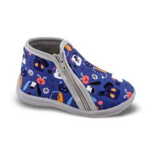 Zak Shoes-Παιδικά Παντοφλάκια για Αγόρι-42-104-ΜΠΛΕ