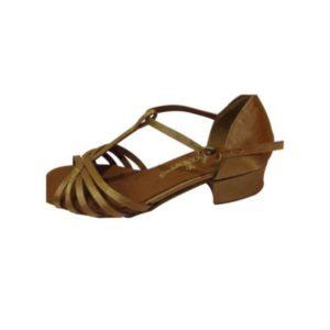 Dance Experts-Παπούτσια Χορού-C-301-ΚΑΦΕ
