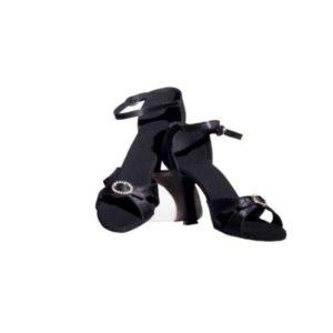 Dance Experts-Παπούτσια Χορού-P-501-ΜΑΥΡΟ