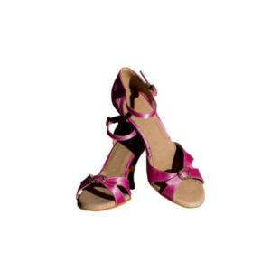 Dance Experts-Παπούτσια Χορού-P-501-ΦΟΥΞΙΑ