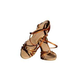 Dance Experts-Παπούτσια Χορού-P-508-ΜΠΡΟΝΖΕ