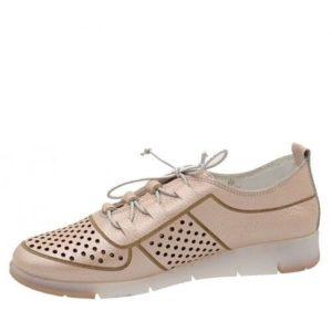 Safe Step-Γυναικεία Ανατομικά Sneakers-68300-PERLA PUDRA